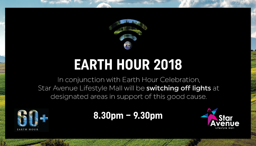 Star Avenue Earth Hour 2018