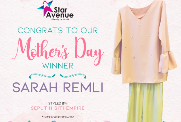 CONGRATS TO OUR MOTHER'S DAY WINNER