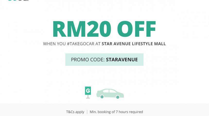 GoCar is now available in Star Avenue