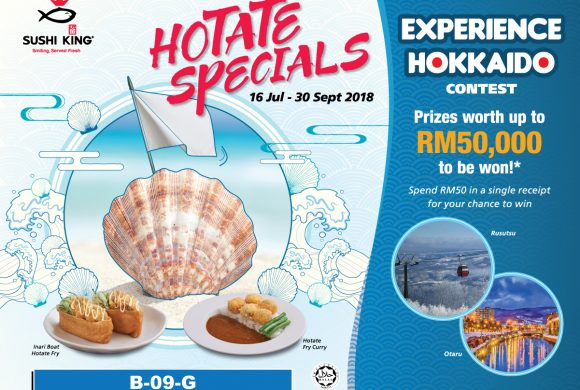 Sushi King Hotate Special
