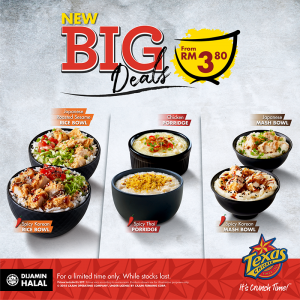 NEW BIG DEALS FROM TEXAS CHICKEN