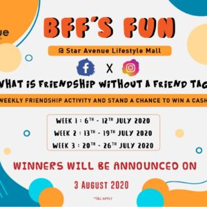 BFF's Fun: What is friendship without a friend tag?