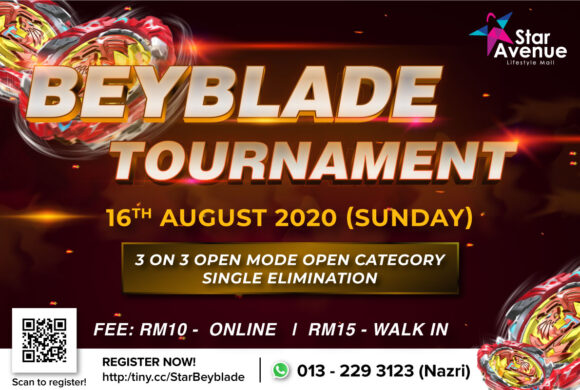 BEYBLADERS, ARE YOU READY FOR THE TOURNAMENT?