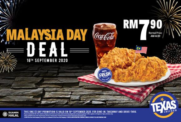 MALAYSIA DAY DEAL @TEXAS CHICKEN