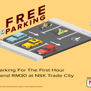 Enjoy FREE PARKING at Star Avenue Lifestyle Mall! 🚗